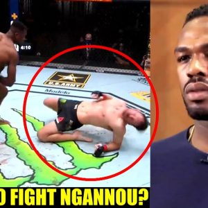 Jon Jones responds to people saying he's afraid to fight Francis Ngannou and will price himself out