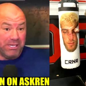 Dana White willing to bet ONE MILLION DOLLARS on Ben Askren to beat Jake Paul,DC on Yan vs Sterling