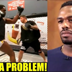 Jon Jones promises a style & shape that has never been seen in any Heavyweight fighter,Miesha Tate