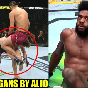 Ben Askren recovered faster than Aljamain Sterling after being taken out by Jorge Masvidal,Belal