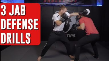 Firas Zahabi shares 3 Ways to Defend the Jab