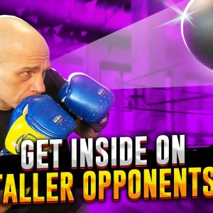 How to use Footwork and Head Movement to Get Inside on Taller Opponents in Boxing