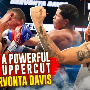 How to throw a Knockout Uppercut like Gervonta Davis