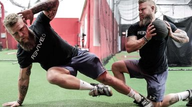 Medball & Core Exercises to Increase Explosive Knockout Power for Boxing and MMA | Phil Daru