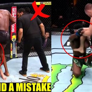 Daniel Cormier compares the situation of Anthony Smith and Aljamain Sterling after illegal Knee,Cruz