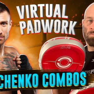 Lomachenko Virtual Padwork | Lots of Boxing Combos and Tactics