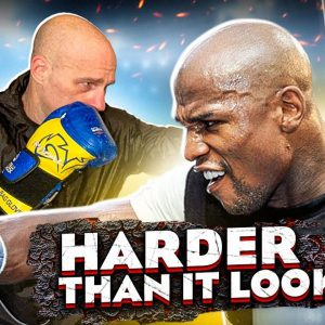 Mayweather Heavy Bag Drill for True Boxing Stamina
