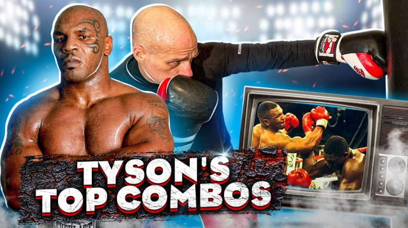 Mike Tyson Combos for the Heavy Bag and Shadow Boxing