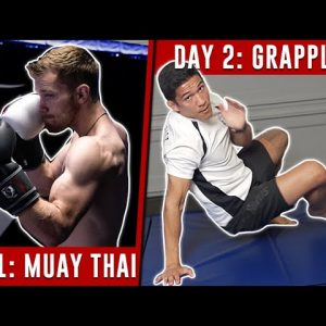 MMA Training Schedule (1 Week) - No Equipment Needed!