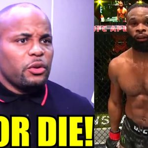 Tyron Woodley is in a spot where he may get cut from the UFC just like JDS if he loses at UFC 260-DC