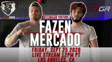 "Shane Fazen vs Ricardo ""El Super"" Mercado TRAILER"