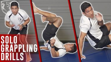 Solo Grappling Drills: Wrestling & BJJ Exercises at Home