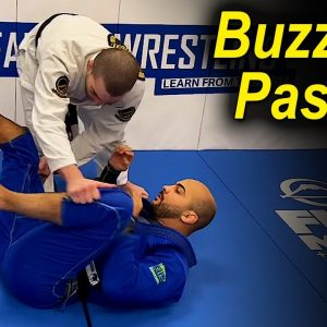 "Learn Everything About The ""Buzzsaw Passing"" - The New Concept Of BJJ Guard Passing by Andrew Wiltse"
