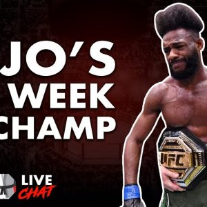 Aljo's 1st Week As Champion, UFC Venum Gear Spotted?, Edwards vs Muhammad Preview - Live Chat