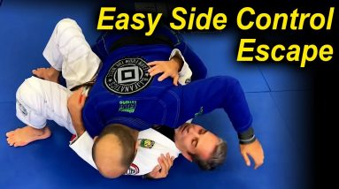 An Easy Jiu Jitsu Side Control Escape That You Have Never Seen by Pedro Sauer