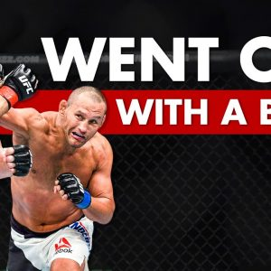 10 Fighters Who Went Out In Spectacular Fashion