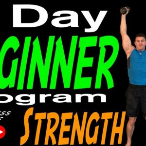 5 Day Beginner Workout Program-Dumbbell Strength Training