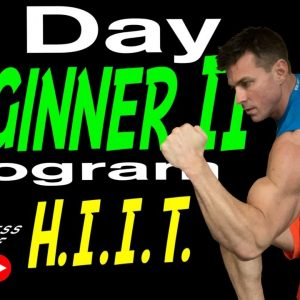 5 Day Beginner Workout Program Part 2 HIIT