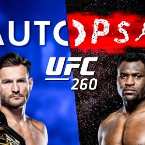 The Autopsy: UFC 260 Stipe Miocic vs Francis Ngannou, Woodley vs Luque &  O'Malley vs Almeida