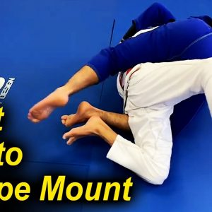 A BJJ Mount Escape That You Have Never Seen by Pedro Sauer