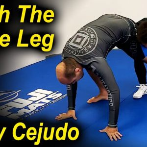 A Different Way To Finish The Single Leg by Olympic Wrestling Champion Henry Cejudo