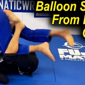 Balloon Sweep From Lasso Guard by Marcus Johnson