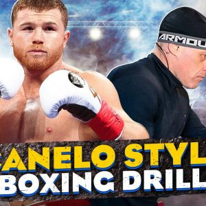 Canelo Style Boxing Drill | Footwork and Hand Speed