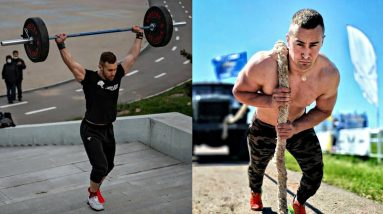 CRAZY RUSSIAN Workout Monster -  Ruslan Jaguar