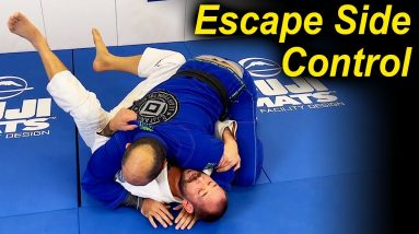 The Second BJJ Guard. Great Method To Escape From Side Control by Paul Schreiner