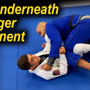 How To Get Underneath A Bigger And Stronger Opponent In Jiu Jitsu by Mikey Musumeci