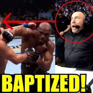 MMA Community Reacts to Jorge Masvidal getting KNOCKED OUT for the 1st time by Kamaru Usman,UFC 261