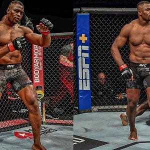 FRANCIS NGANNOU UFC FIGHTER TRAINING MONSTER 😱💪
