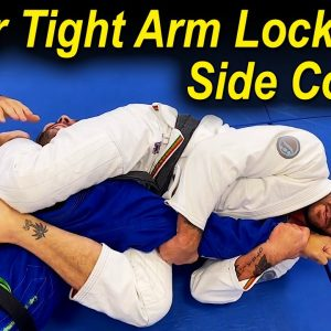 Very Tight Arm Lock From Side Control Trapping Both Armbar by Paul Schreiner