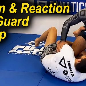 Action and Reaction No Gi Half Guard Sweep by ADCC Champion Matheus Diniz