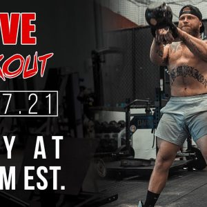 Live Kettlebell Workout + Q&A | Phil Daru
