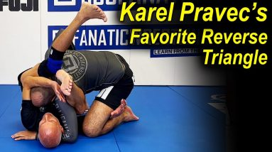 """The Reverse Triangle That Became The Favorite Submission Of Karel """"Silver Fox"""" Pravec"""