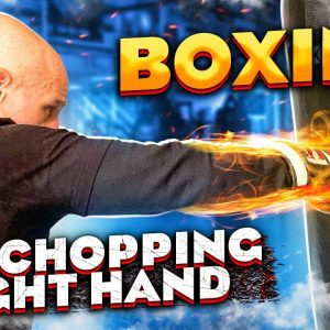 "Learn this KO Punch | the ""Chopping Right Hand"" vs Straight Right vs Overhand Right"