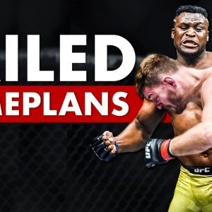 The 10 Most Tragically Failed UFC Gameplans