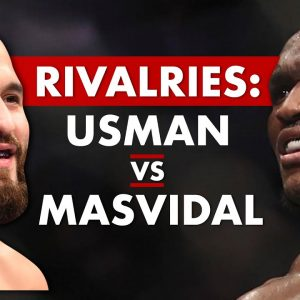 The History of The Rivalry Between Kamaru Usman & Jorge Masvidal