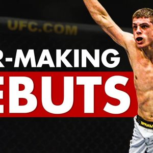 10 Biggest Star-Making UFC Debuts From Unknown Fighters