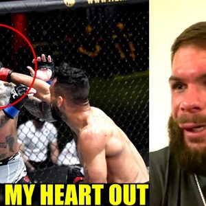 An Emotional Cody Garbrandt reacts to his loss to Rob Font,Usman on Conor McGregor,Felder retires