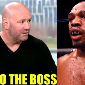 Jon Jones needs to get off the internet and talk to Dana White to make fight vs Ngannou happen,Yair