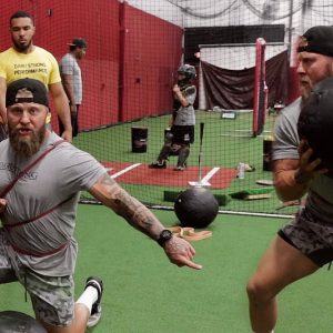 3 Med Ball Exercises to Increase Knockout Power for MMA & Combat Sports | Phil Daru