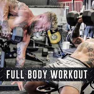 Full Body Workout: Lower Body Power | Upper Body Strength & Hypertrophy | Phil Daru