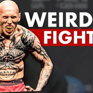 The 10 Weirdest Fighters in UFC History