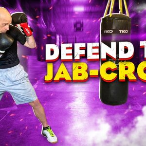 """The Safest Way to Defend the """"Jab-Cross"""" aka 1-2 in Boxing #boxingdefense"""