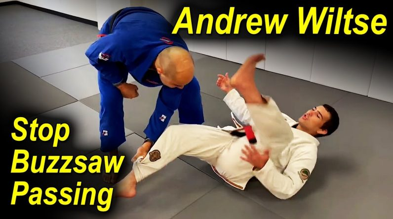 How To Stop The Buzzsaw BJJ Passing Using Guard Retention by Andrew Wiltse