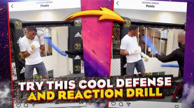 Try this Boxing Defense Reaction Drill