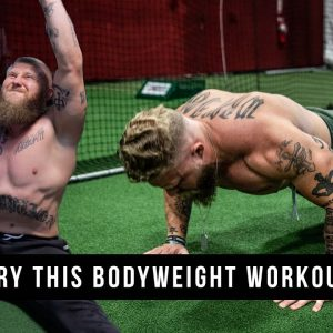 TRY THIS HOME BODYWEIGHT WORKOUT (NO EQUIPMENT NEEDED!)