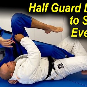 One Of The Most Important Details In The Jiu Jitsu Half Guard To Sweep Everyone by Bruno Bastos